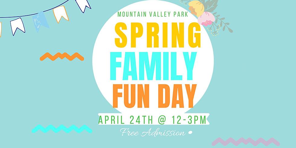 Spring Family Fun Day at Mountain Valley Park
