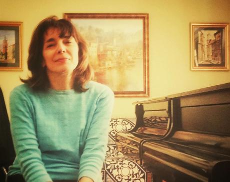 Ann Birman in her Piano Studio, Northbrook IL