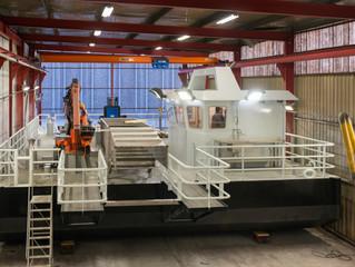 Lekter produsert og levert på Sirevåg