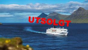 Cruise til Færøyene og Island 23.-29.august 2019