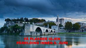 Elvercruise gjennom Provence 16.-22.september 2019