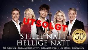 TIDLIGERETURER:JULEKONSERT I GAND KIRKESØNDAG 2.DESEMBER KL 17.00