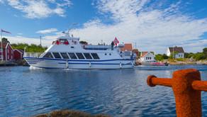 På tur i Blindleia med M/S Maarten onsdag 21. august 2019