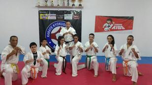 Nova academia Karate Kyokushin Mauá