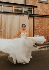 Jaimee & Michael | Wearing the 'Armeria' gown |  Captured by Molly Donlen Photography