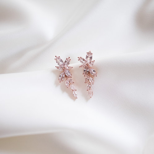 Lily drops - Rose Gold