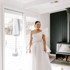 Katie | Wearing the 'Mira' gown by Esty Style | Captured by Bianca Virtue