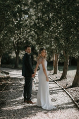 Laura & Kallan   Wearing Bespoke TSB   Captured by Hannah Gilbert Photography