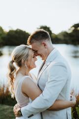 Caitlin + Jarrad   Wearing Bespoke TSB   Captured by Valley Peak Weddings