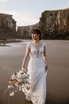 cherish-wedding-gown-vneck-lace-flowers.