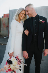 Emily & Tim   Wearing bespoke TSB   Captured by Immerse Photography
