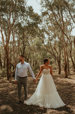 Jaimee & Michael   Wearing the 'Armeria' gown    Captured by Molly Donlen Photography