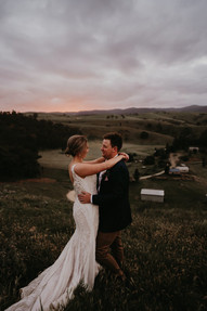 Rochelle + Stephen | Wearing the 'Adeline' gown | Captured by One Spoon Two Spoon
