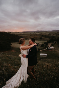 Rochelle + Stephen   Wearing the 'Adeline' gown   Captured by One Spoon Two Spoon