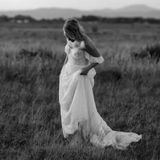 Chloe | Wearing 'Myrtus' by Alena Leena Bridal | Captured by Hannah Gilbert