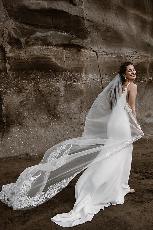2.75m Aria Veil by Kellylin Couture