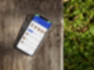 iphone-x-mockup-lying-on-a-wooden-bench-