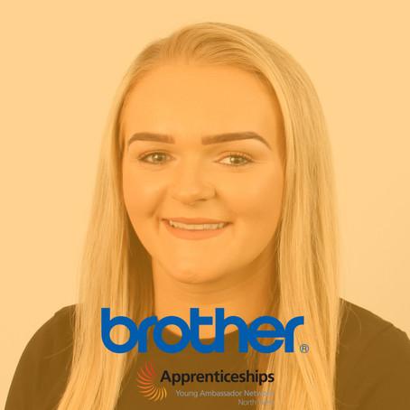 Gemmer Crozier, Business Administration Apprentice, Brother UK Ltd