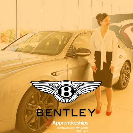 Rebecca Lomax, HR Apprentice, Bentley