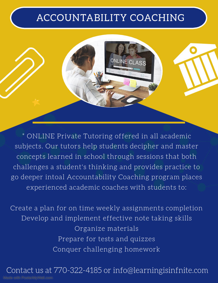 Copy of Online Schooling Ad Flyer - Made