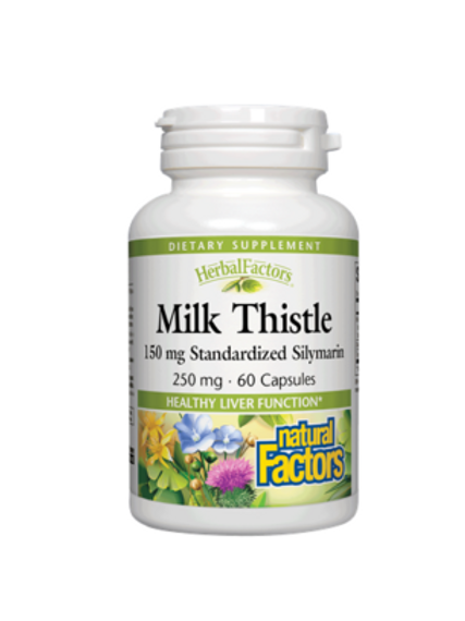 Natural Factors - Milk Thistle 250 mg 60 capsules