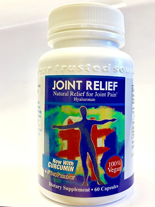 Joint Relief  Hyaluronic Acid 60 Capsules