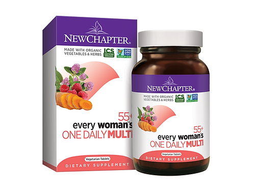 New Chapter - Every Woman's One Daily 55+ 48 tablets