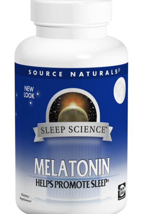 Source Naturals Melatonin 2 mg Timed Release 60 tablets