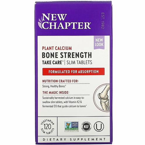 New Chapter - Bone Strength Take Care 120 slim tabs
