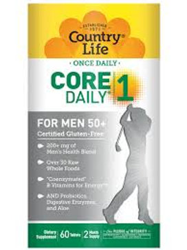Country Life - Core Daily-1 for Men 50+ 60 tablets