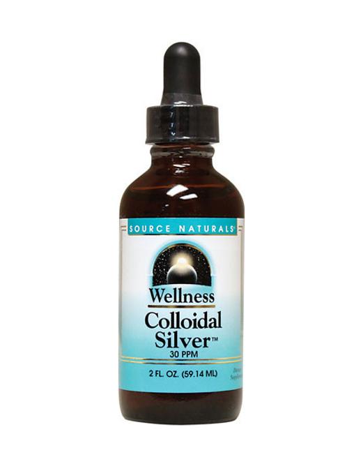 Source Naturals - Wellness Colloidal Silver 30 PPM 2 fl oz