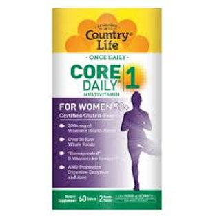 Country Life - Core Daily-1 for Women 50+ 60 tablets