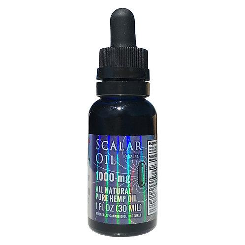 Miracle Balance - Scalar CBD Hemp Oil 1000 mg 1 oz