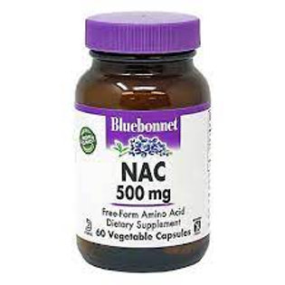 Bluebonnet Nutrition NAC 500 mg  60 Vegetable Capsules