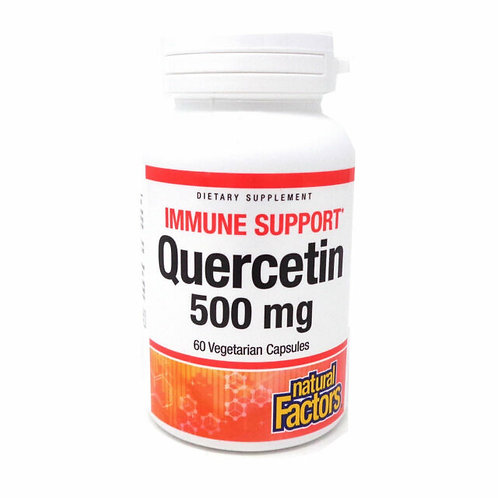 Natural Factors Quercetin 500 mg  60 Vegetarian Capsules