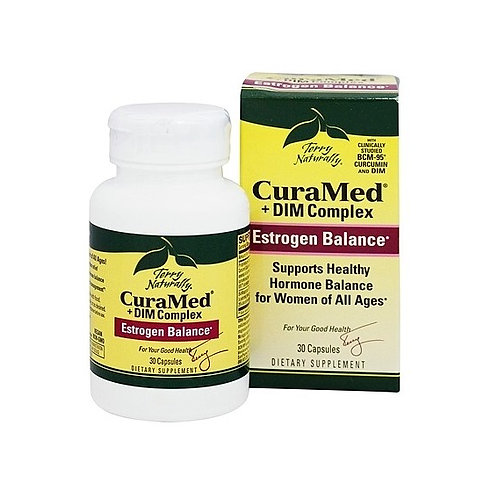 Terry Naturally - CuraMed + DIM Complex 30 capsules