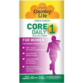 Country Life - Core Daily-1 for Women 60 tablets