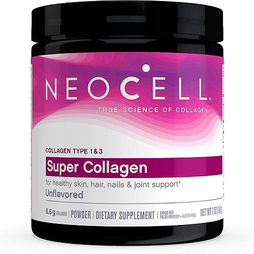 NeoCell Super Collagen™ Type 1 & 3 -- 6600 mg - 7 oz