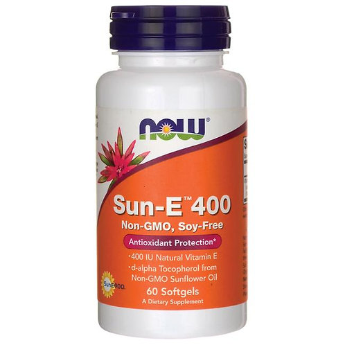 NOW Foods Sun-E™ 400  60 Softgels