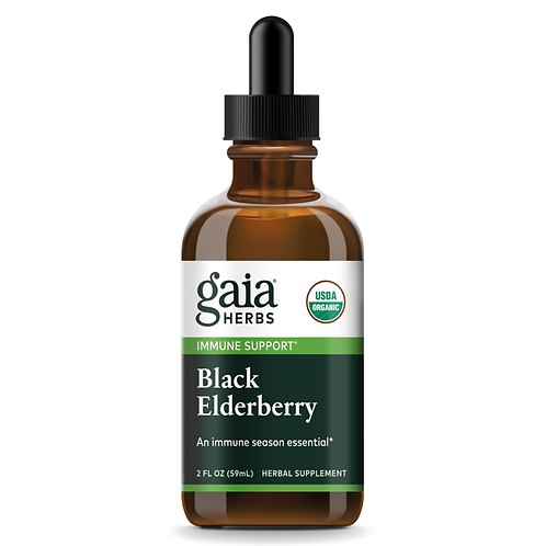 Black Elderberry Extract Certified Organic 2 oz
