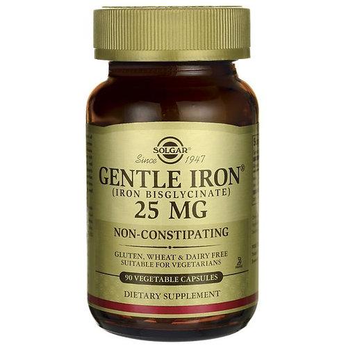 Solgar Gentle Iron®  25 mg  90 Vegetable Capsules