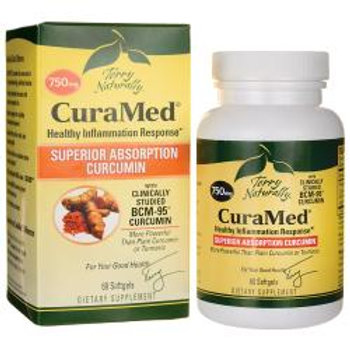 Terry Naturally CuraMed™ Curcumin 750 mg  60 Softgels