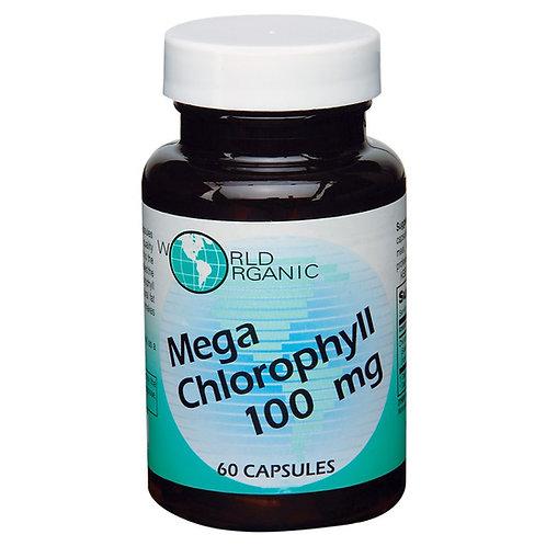 World Organic Mega Chlorophyll 100 mg capsules