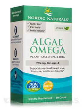 Nordic Naturals Algae Omega 715 mg 60 Soft Gels