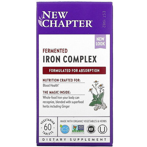 New Chapter - Iron Food Complex 60 tablets