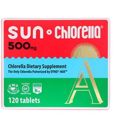 Sun Chlorella 500 mg 120 Tablets