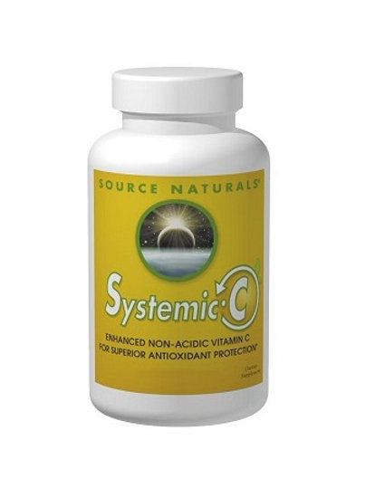 Source Naturals - Systemic C 500 mg 120 capsules
