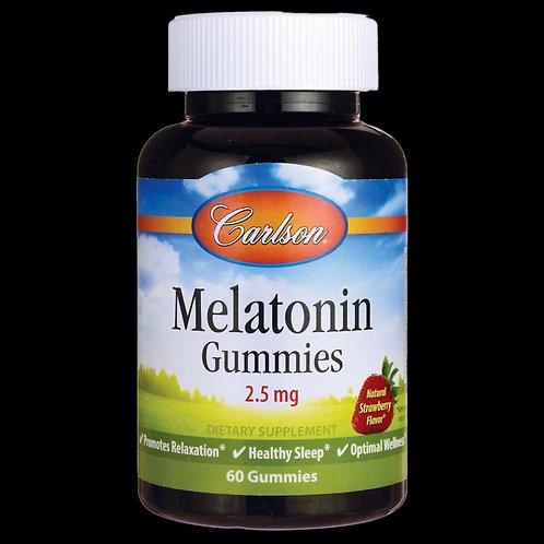 Carlson Melatonin Gummies 2.5 mg 60 gummies