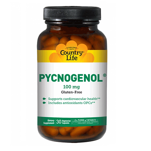 Country Life  Pycnogenol 100 mg 30 veg capsules