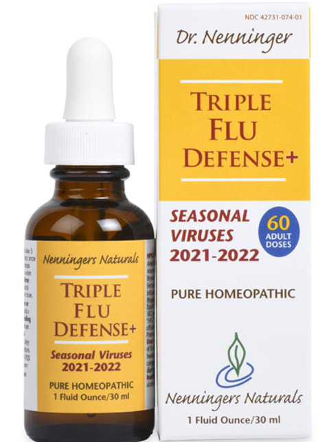 Triple Flu Defense+  2021-2022 Nenningers Naturals 1 oz